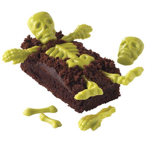 Wilton Candy Mold Skelett Knochen Formen Zubeh 246 R Cake