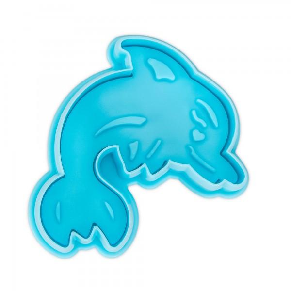 Prägeausstecher Delfin mit Auswerfer
