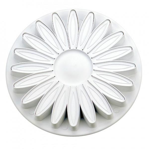 Sonnenblume / Gerbera ca. 70 mm Weiß