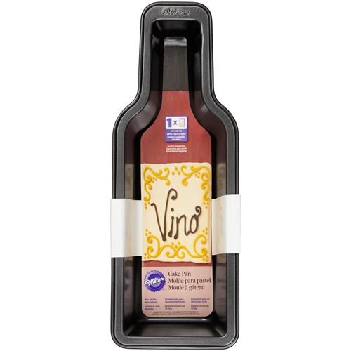 Backform Weinflasche