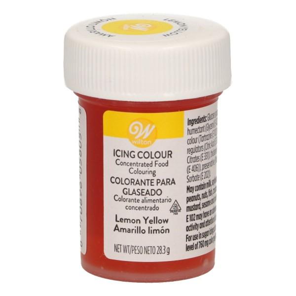 Wilton Icing Color - Lemon Yellow - 28g