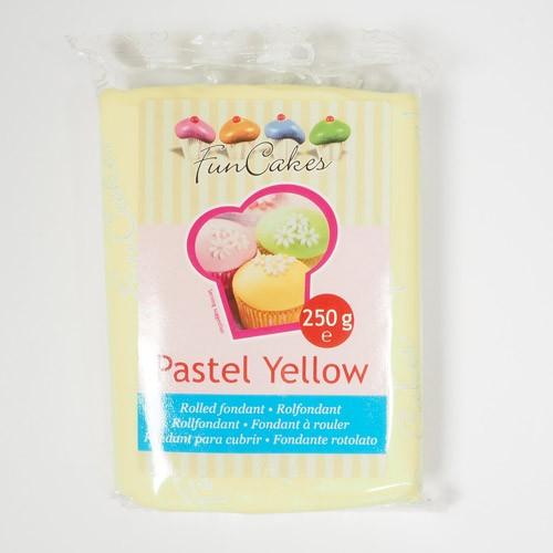 FunCakes Fondant Pastel Yellow 250g NEU!