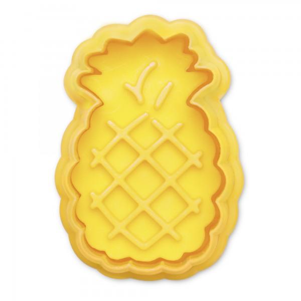 Ananas ca. 5 cm Gelb