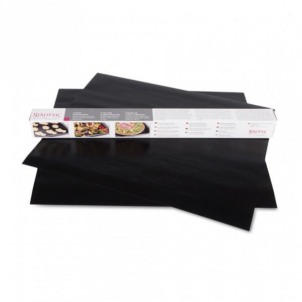 Dauer-Backtrennfolie 33 x 40 cm Schwarz
