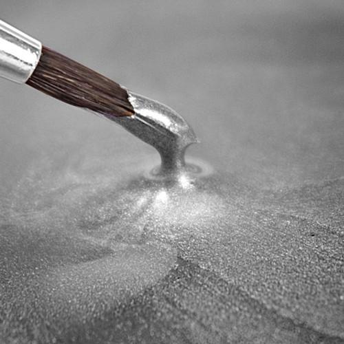 RD Metallic Food Paint Light Silver