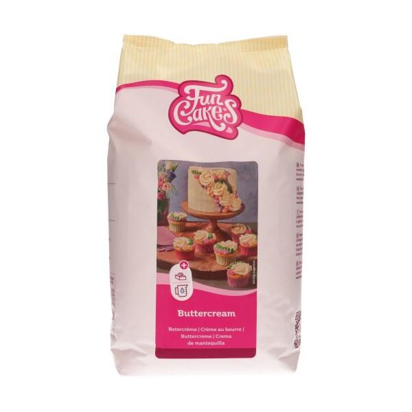 FunCakes Mix für Buttercreme 4 kg Sack