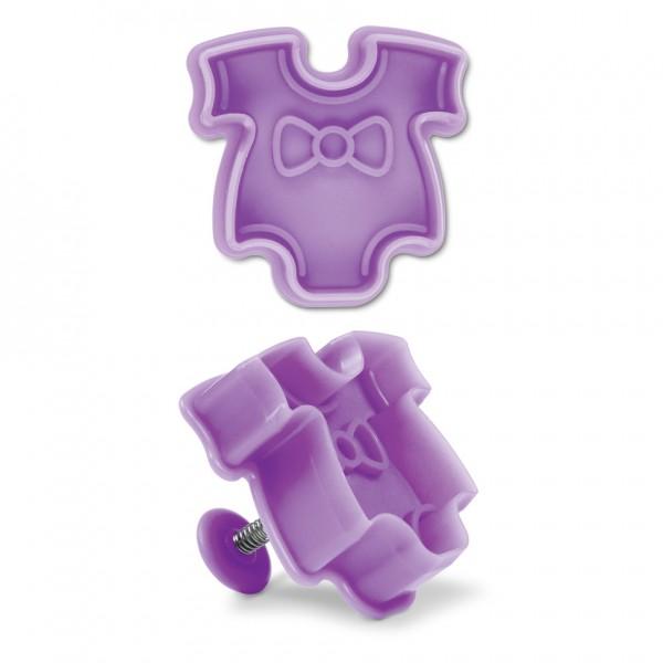 Babybody ca. 5,5 cm Lila / Violett