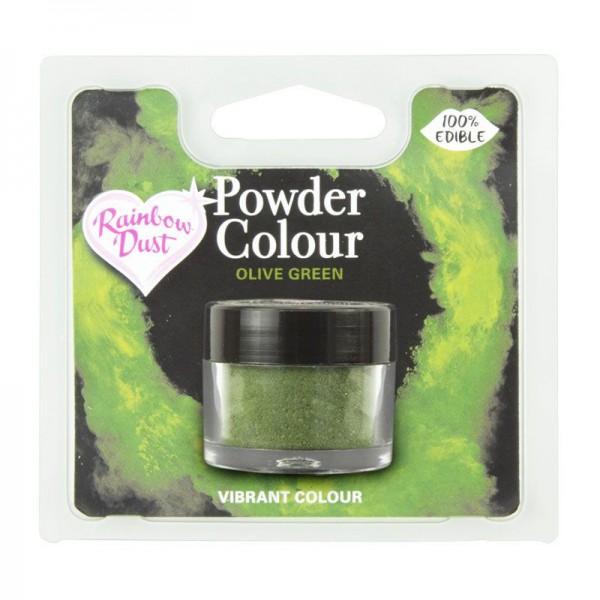 Farbpulver olive green