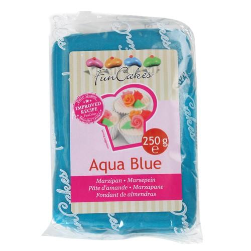 Marzipan aqua blau 250 g