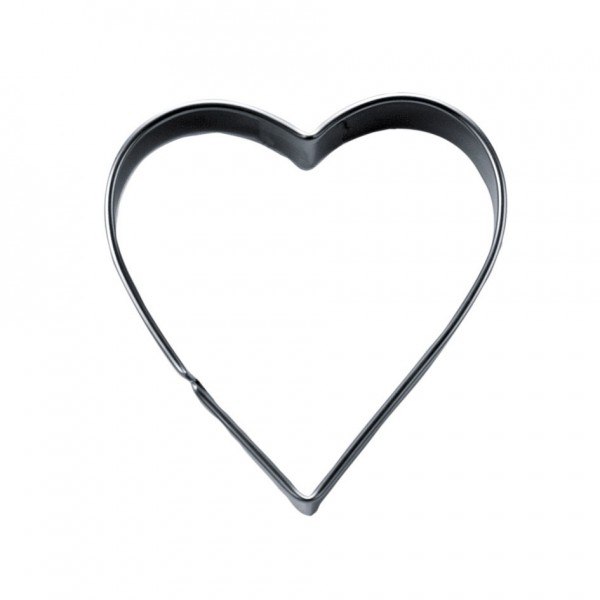 Herz ca. 3 cm / H 2,5 cm