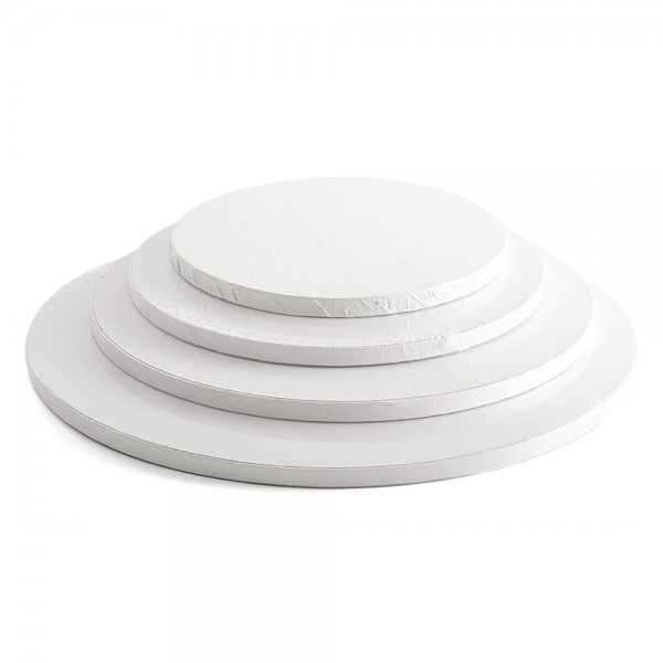 Tortenplatte 12 mm weiß rund Ø 25 cm
