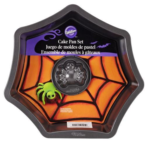 Wilton Backform Set - Netz mit Spinne -