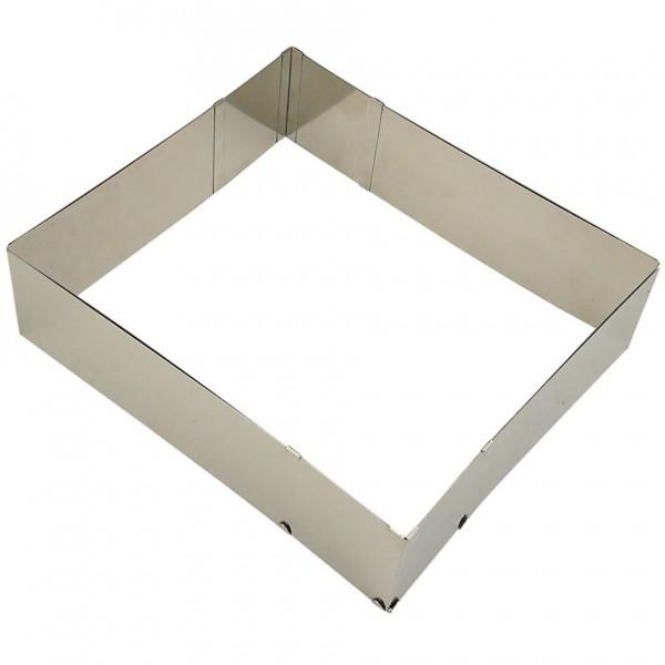 Backrahmen Moos ca. 25-50 x 22-41 cm / 7 cm hoch, verstellbar