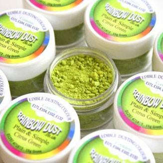 Farbpulver grüne Zitrone - citrus green