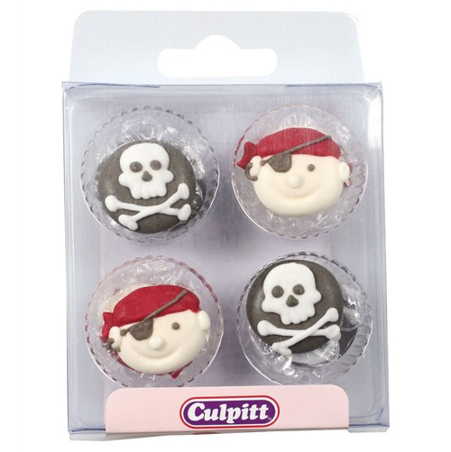 Culpitt Zuckerdekoration Piraten