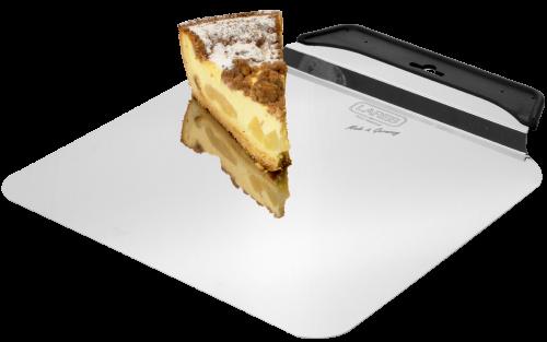 Tortenheber 28 x 28 cm Edelstahl mit Griff
