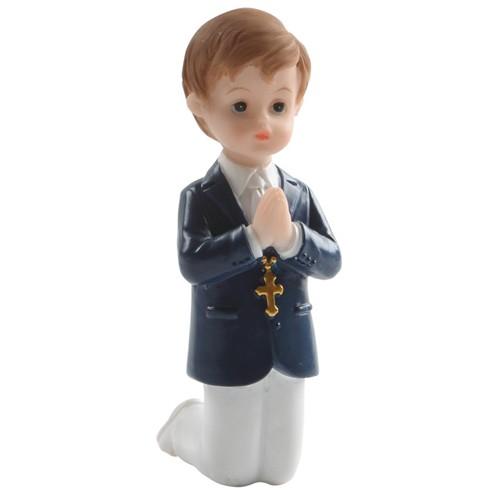 Dekorative Figur Kommunion - Betender Junge