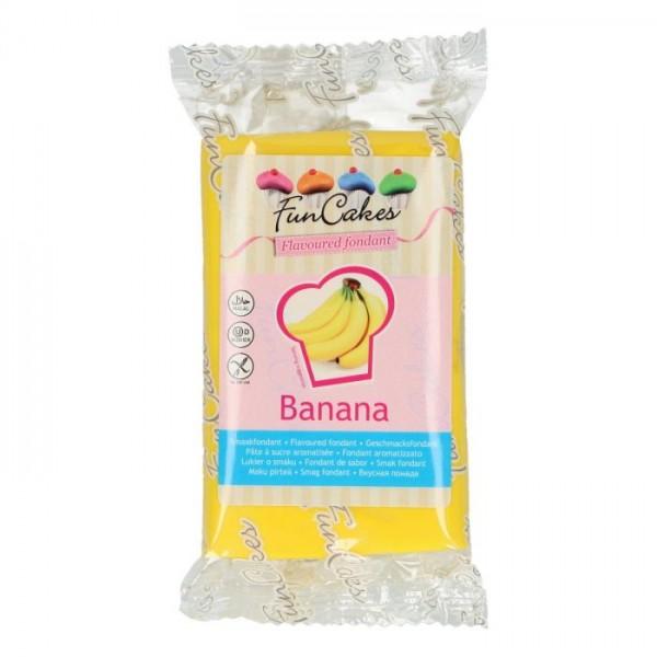 FunCakes Fondant mit Bananengeschmack 250 g - NEU -