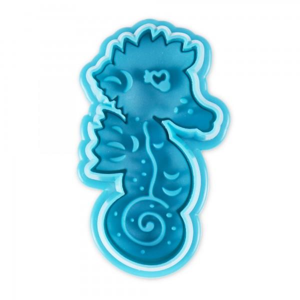 Seepferdchen ca. 5,5 cm Blau