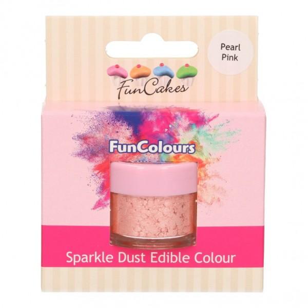FunColours Glanzpuderfarbe - Pearl Pink 100% essbar