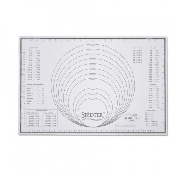 Backmatte Maxi ca. 60 x 40 cm Silikon