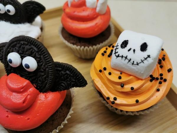 Halloween-Cupcakes für Kinder ab 9 Jahre am Freitag, 29.10.20