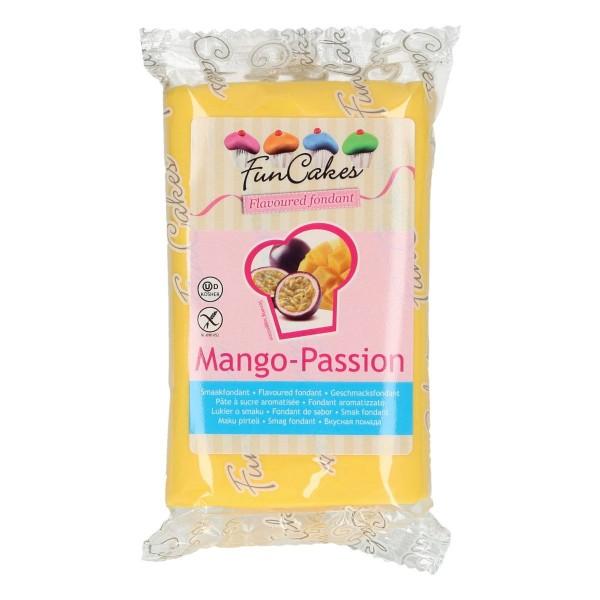 FunCakes Fondant mit Mangogeschmack 250 g - NEU -