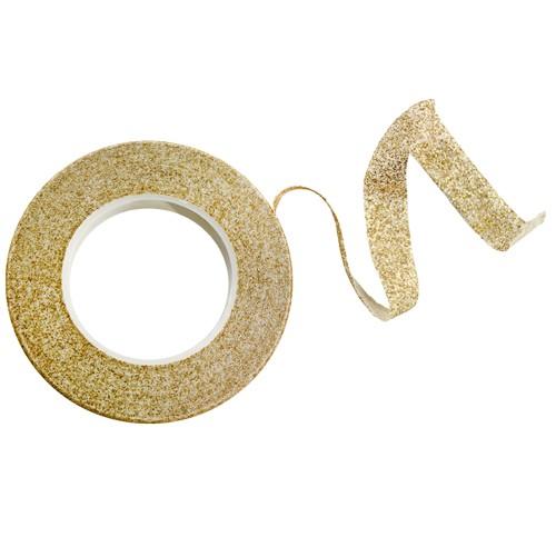 Floristenband, gold mit Glitter