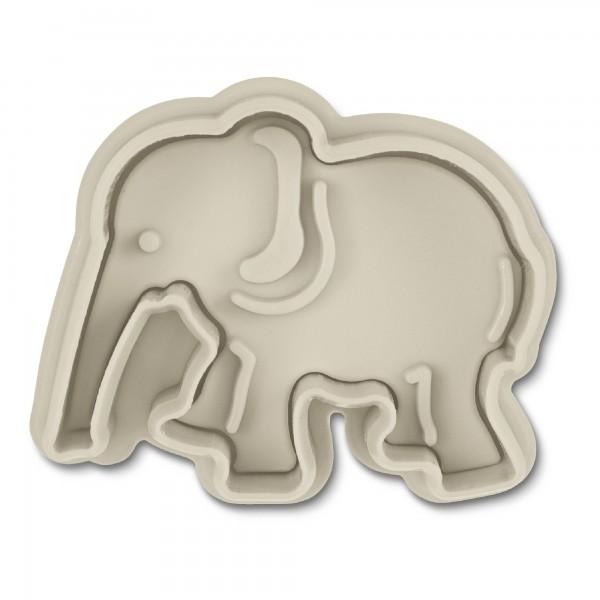 Elefant ca. 5,5 cm Grau