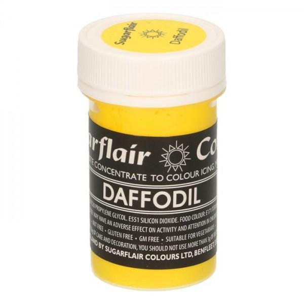 Sugarflair Speisefarben-Paste Daffodil Narzisse 25g