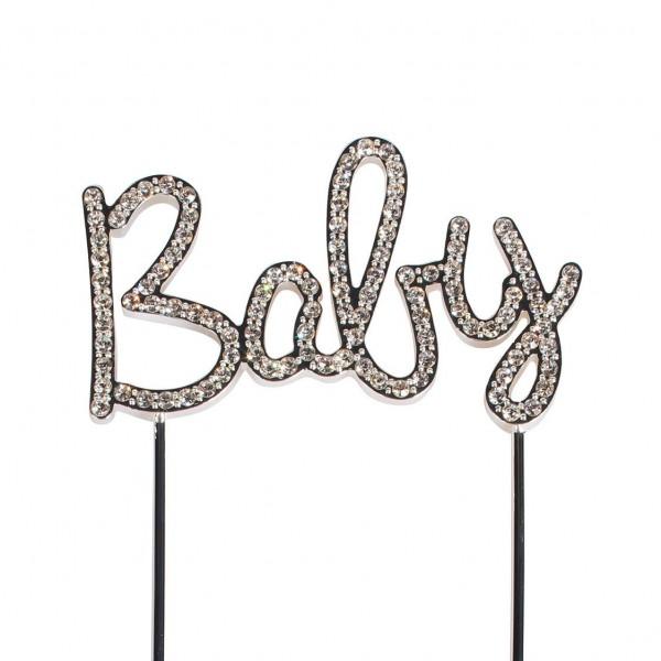 Cake Star Cake Topper Schriftzug Baby