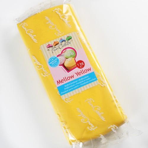 FunCakes Fondant gelb - NEU - 1 kg