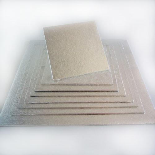 Cake Board quadratisch 25 x 25 cm