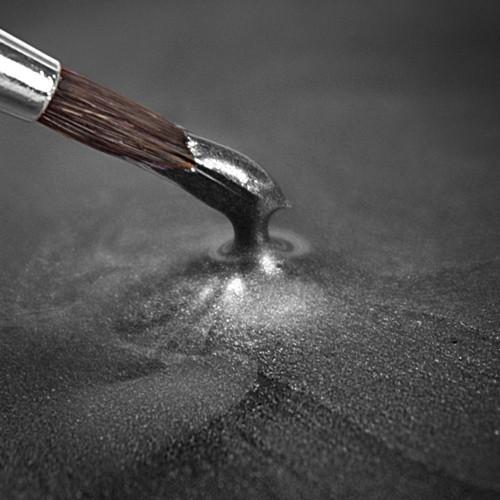 RD Metallic Food Paint Dark Silver