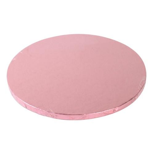 Cake Drum rund 30,5 cm - rosa