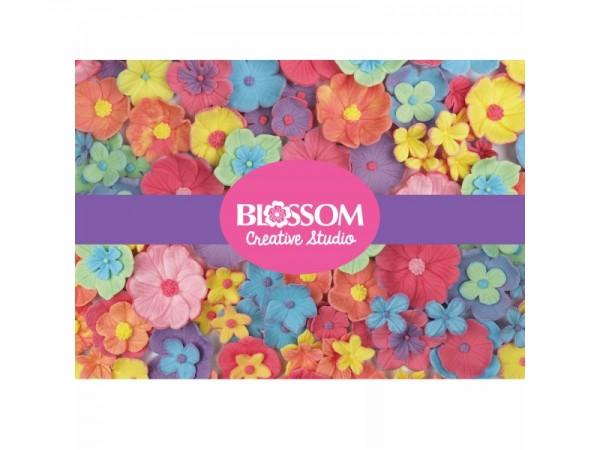 Blossom Creative Studio Set, 3 Präger, 15 Ausstecher - NEU!