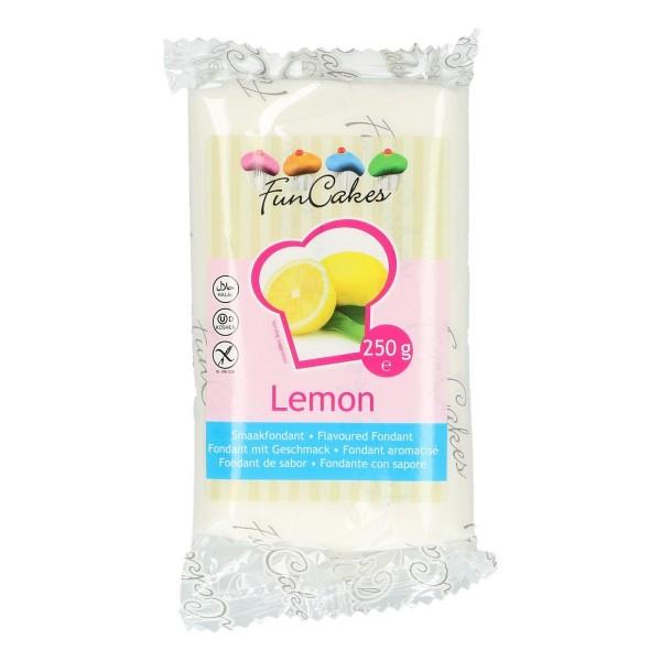 FunCakes Fondant mit Zitronengeschmack 250 g - NEU -