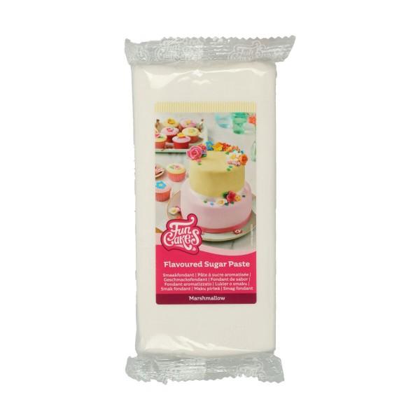FunCakes Fondant mit Marshmallowgeschmack weiß 1 kg