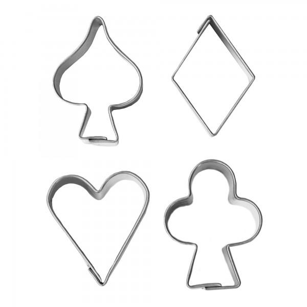 Spielkarten-Symbole ca. 3 cm