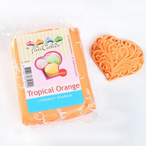 FunCakes Fondant orange 250 g