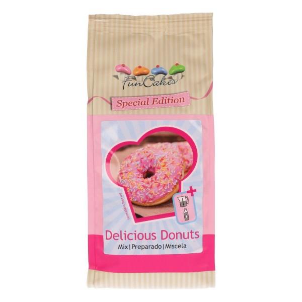 Backmischung für Delicious Donuts 500g