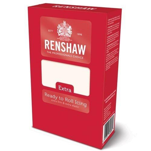 Renshaw Rolled Fondant Extra 1kg weiß