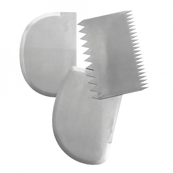 Teigschaber ca. 11 x 12,5 cm Weiß