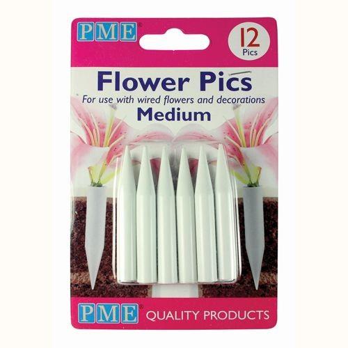 PME Flower Pics Medium 12 Stück
