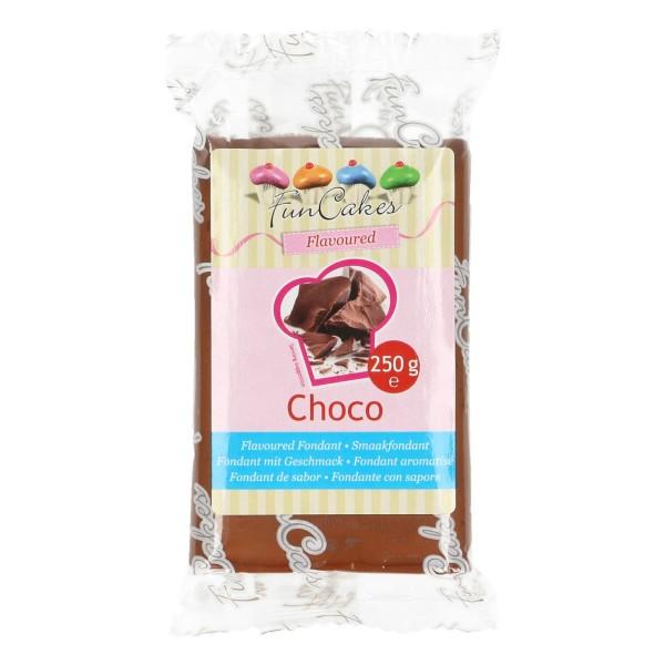 FunCakes Fondant mit Schokogeschmack 250 g - NEU -