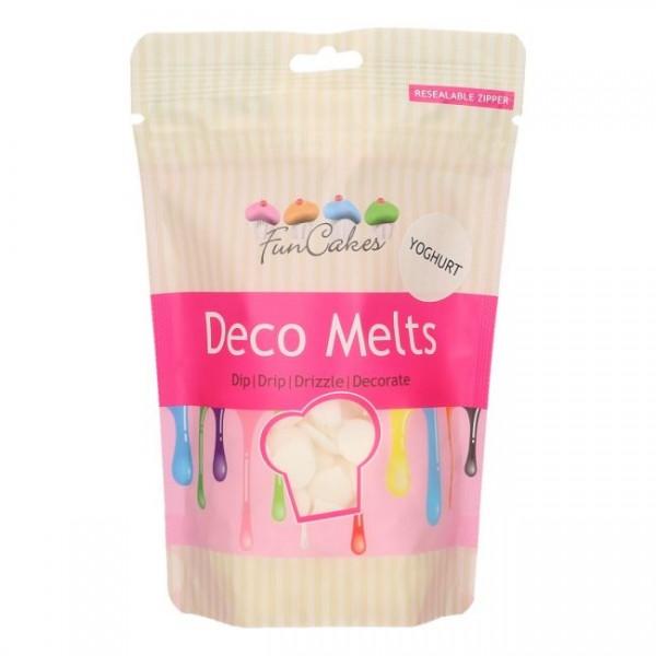 FunCakes Deko Melts mit Joghurt-Geschmack 250g