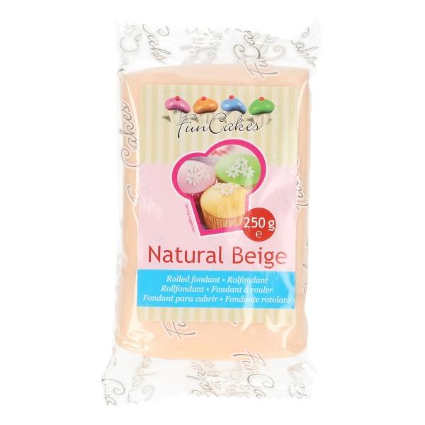 FunCakes Fondant hautfarben / Natural Beige 250 g