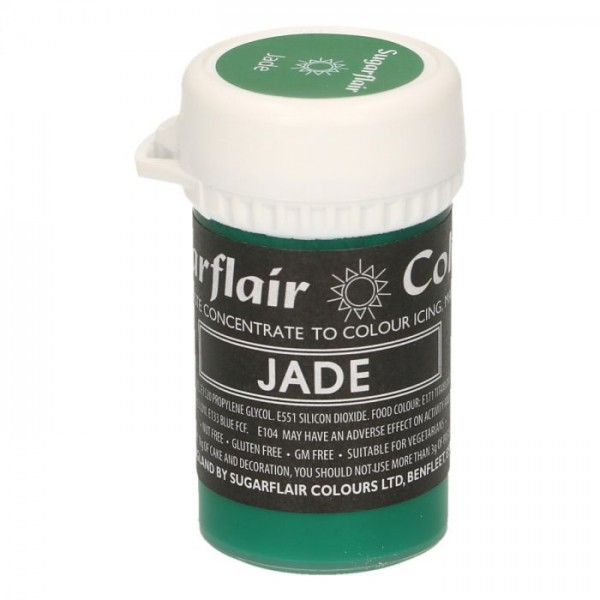 Sugarflair Speisefarben-Paste jade