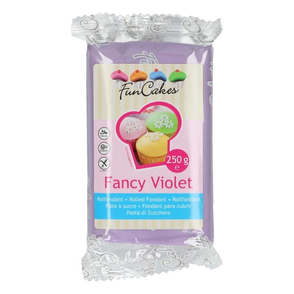 FunCakes Fondant Fancy Violet 250 g