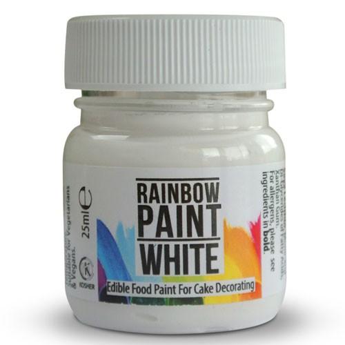 Rainbow Dust Paint White 25 ml
